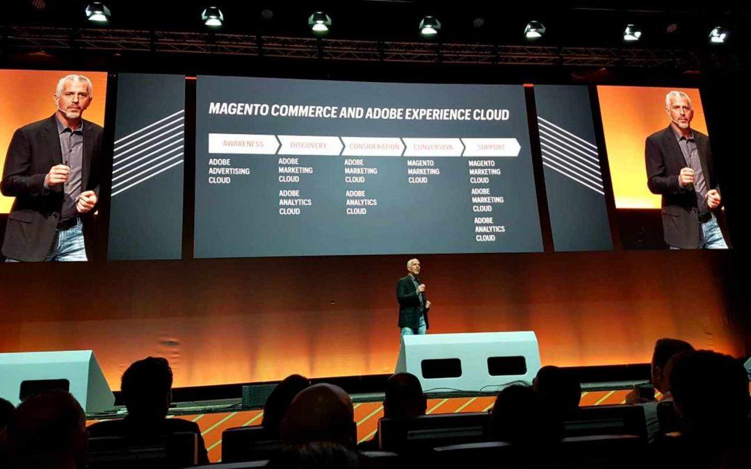 Magento visar musklerna efter Adobeköp