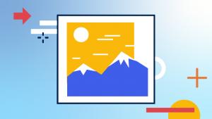 Grafiks Illustration. Ju lättare dina bilder är, desto snabbare laddar sidan.